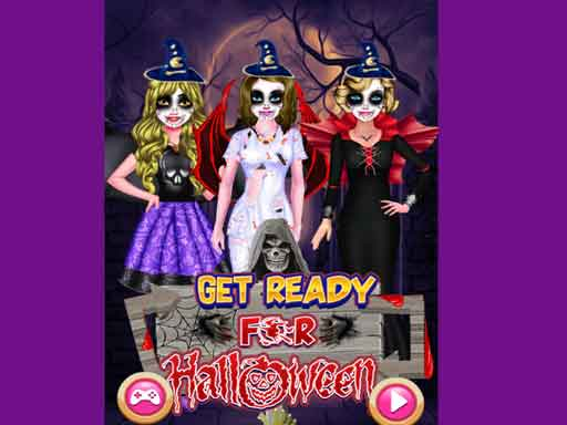 Play Get Ready For Halloween Game