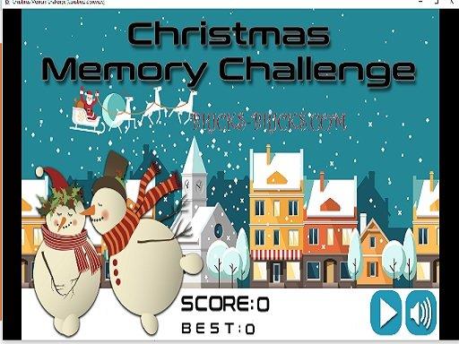 Play Christmas Memory Challenge Game