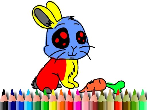 Play BTS Rabbit Coloring Game