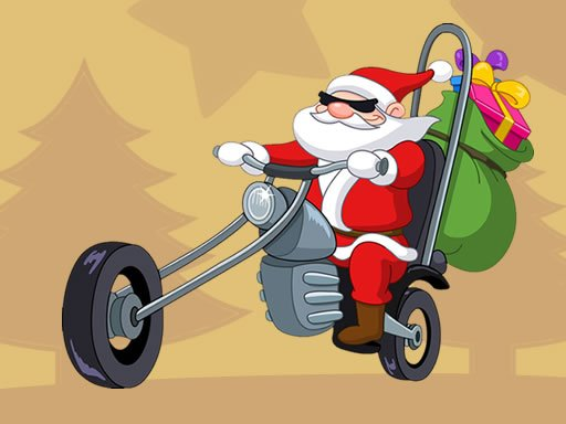 Play Santa Driver Coloring Game