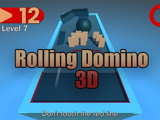 Play Rolling Domino 3D Game