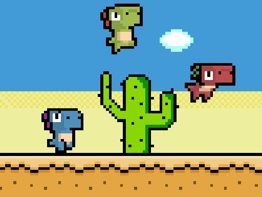 Play Pixel Dino Run Game