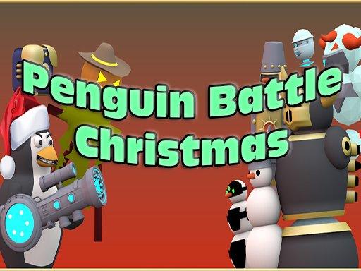 Play Penguin Battle Christmas Game