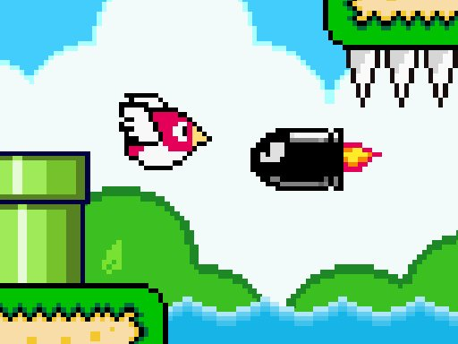 Play Bird Quest: Adventure Flappy Game
