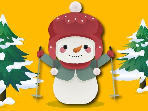 Play Break The Snowman Xmas Game