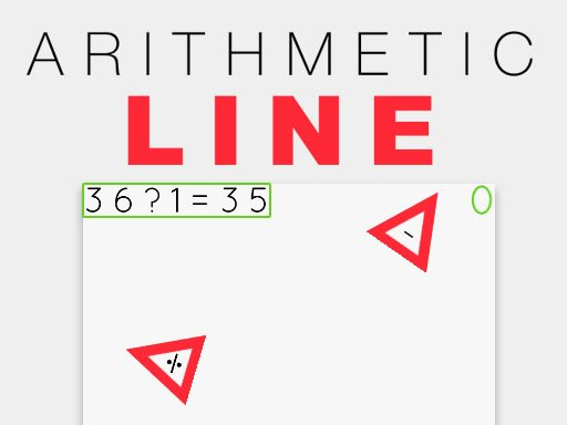 Play Arithmetic Line Game
