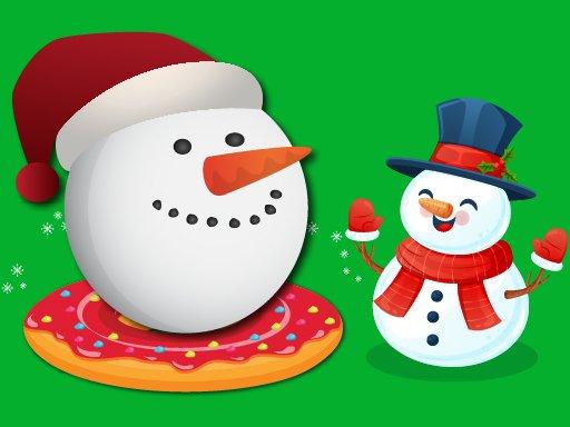 Play Flappy Snowball Xmas Game