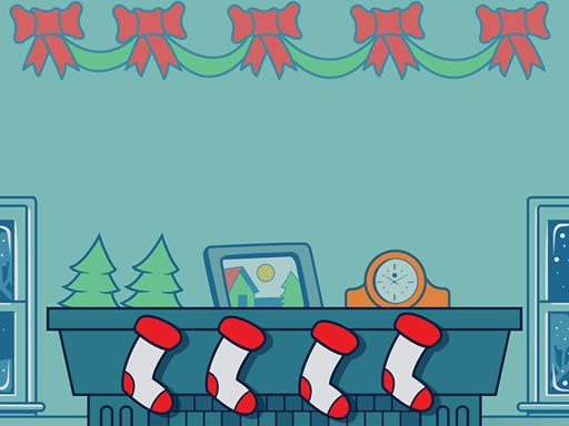 Play Christmas Stockings Memory Game