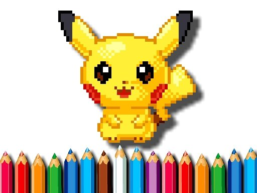 Play BTS Pokemon Coloring Game