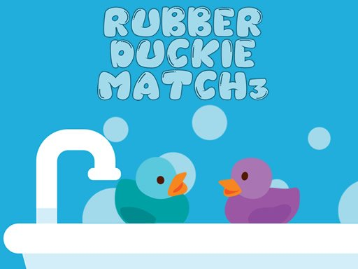 Play Rubber Duckie Match 3 Game
