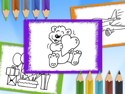 Play Cartoon Coloring Game