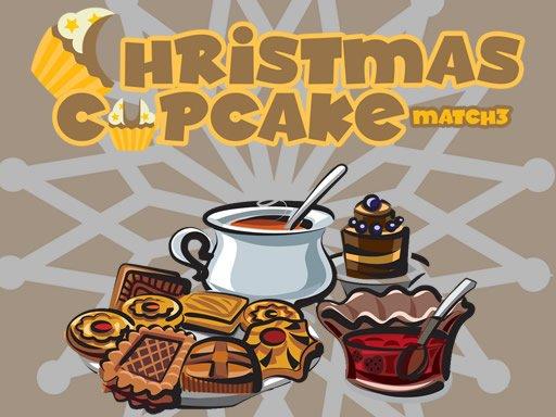Play Christmas Cupcake Match 3 Game