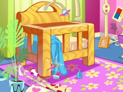 Play House Cleaning Game