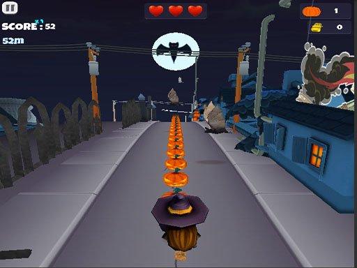Play Halloween Runner Game