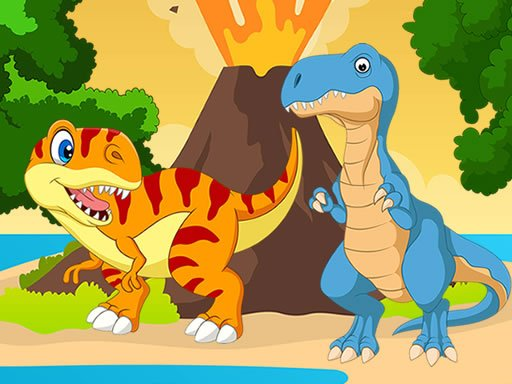Play Dino Jigsaw Game