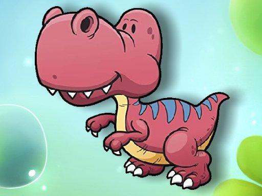 Play Cartoon Dinosaur Memory Challenge Game