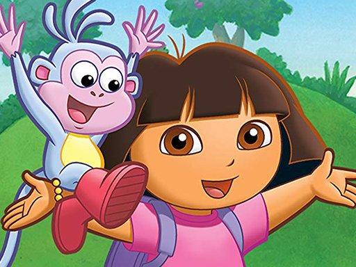 Play Dora Candy Land Game
