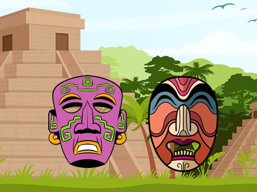 Play Ancient Aztec Coloring Game