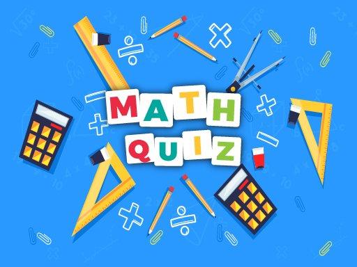 Play Math Quiz Game