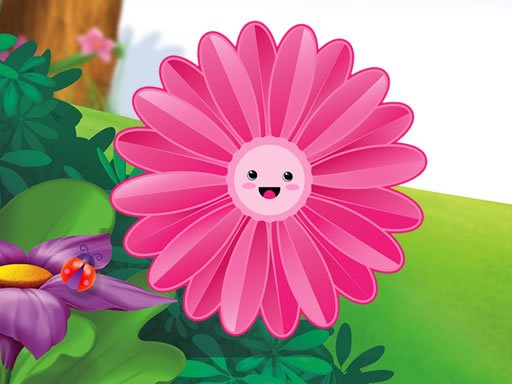 Play Funny Flowers Jigsaw Game
