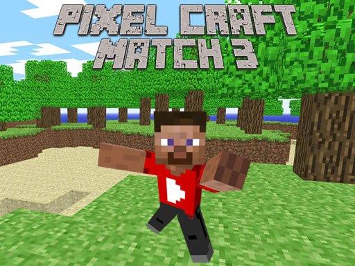 Play Pixel Craft Match 3 Game