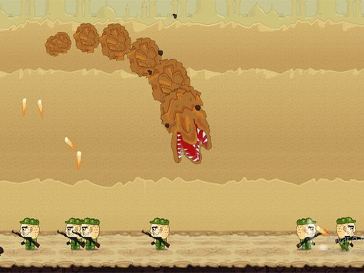 Play Sand Worm Game
