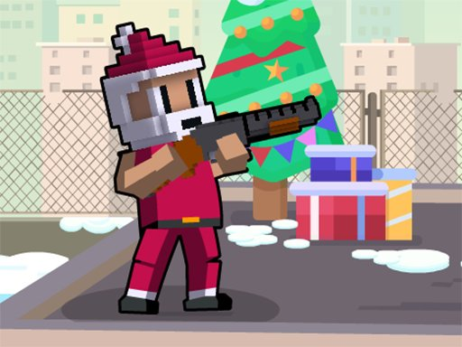 Play Xmas Rooftop Battles Game