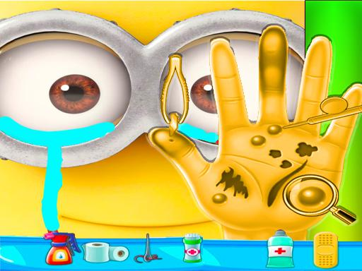 Play Minion Hand Doctor Game