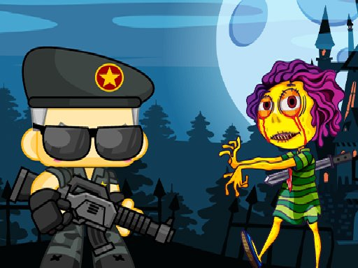 Play Zombie Shooter 2D Game