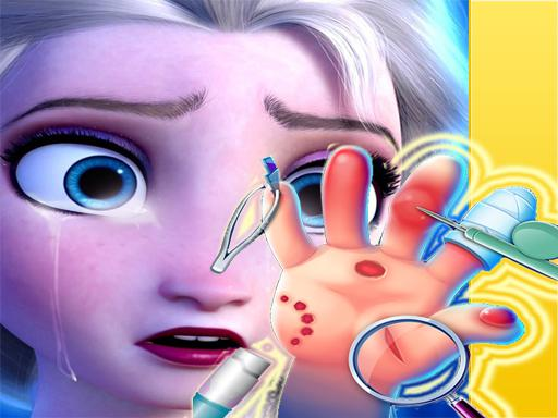 Play Elsa Hand Doctor Game