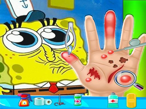 Play Spongebob Hand Doctor Game