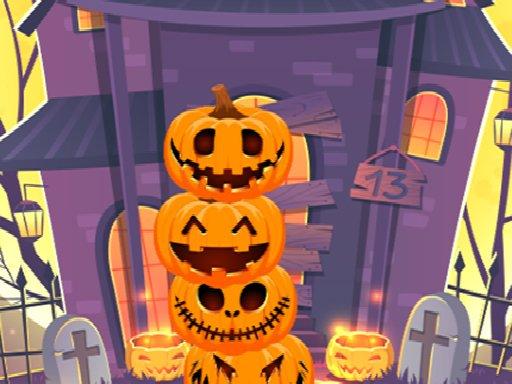 Play Pumpkin Tower Halloween Game