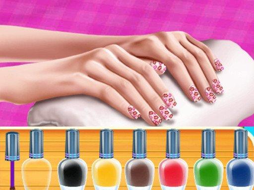 Play Princess Fashion Nail Art DIY Blog Game
