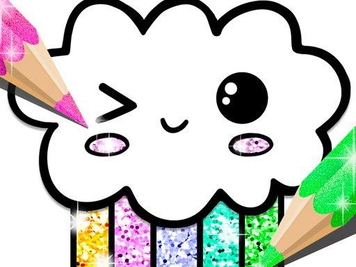 Play Kawaii Coloring Game