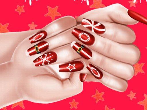 Play Christmas Fashion Nail Salon Game