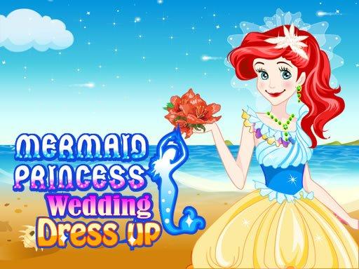 Play Mermaid Princess Wedding Dress up Game