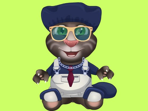 Play Talking Tom Makeover Game