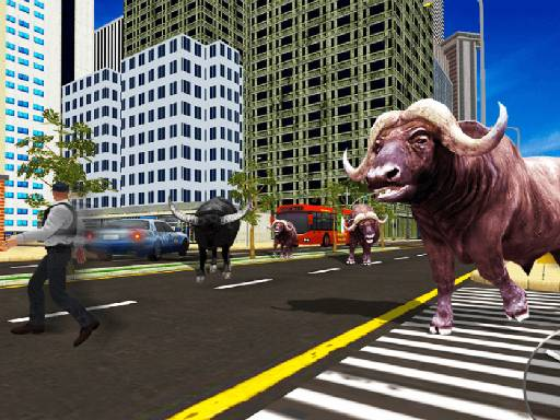 Play Wild Bull Shooter Game