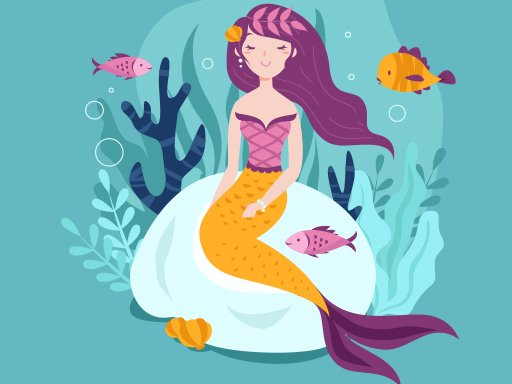 Play Mermaid Jigsaw Game