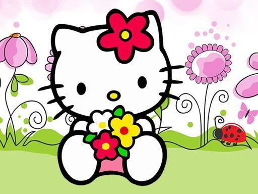Play Hello Kitty Jigsaw Game