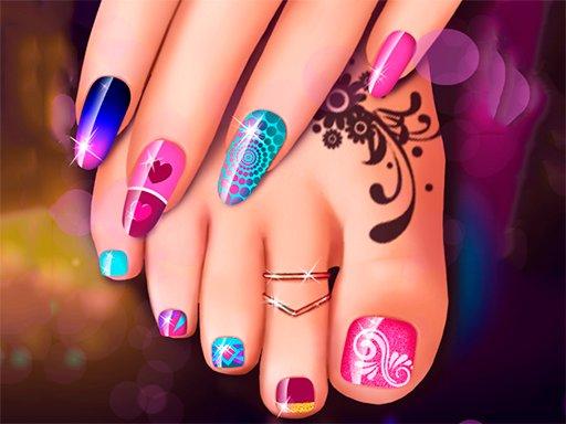Play Nail Art Fashion Salon Game