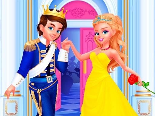 Play Cinderella & Prince Wedding Game