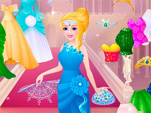 Play Cinderella Dress Designer Game