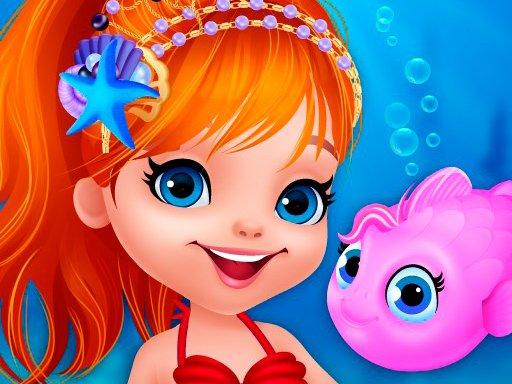 Play Cute Mermaid Dress Up Game