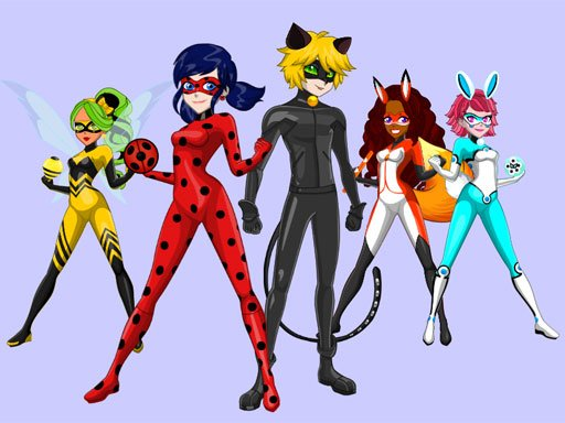 Play Ladybug & Cat Noir Maker Game