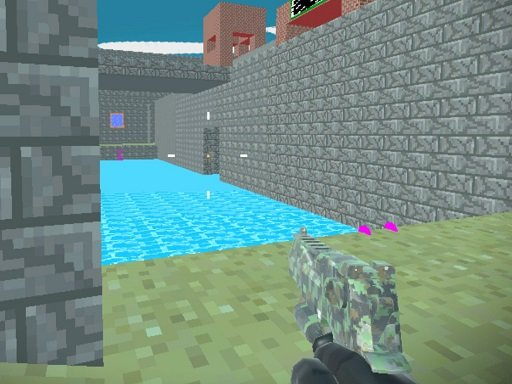 Play Pixel Combat Fortress Game