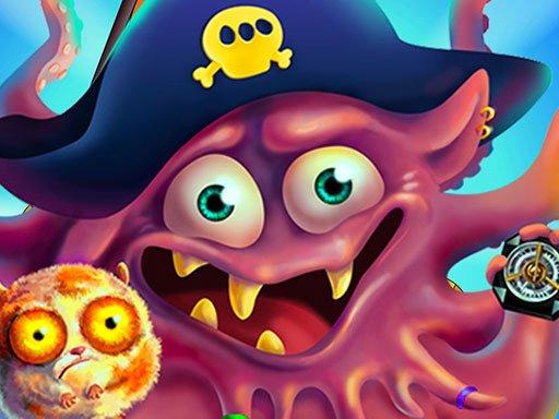 Play Pirate Octopus Memory Treasures Game