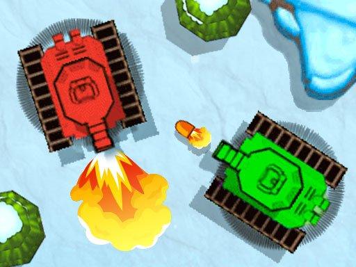 Play Mega Tank Wars Arena Game