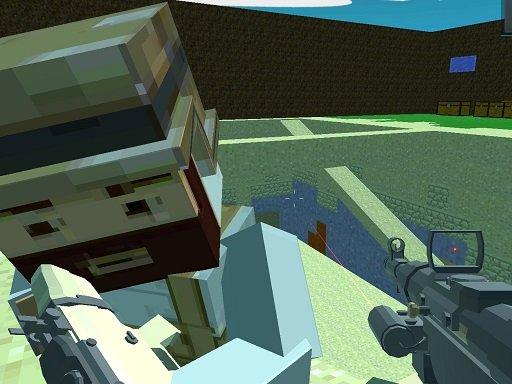 Play Pixel Arena FPS Game