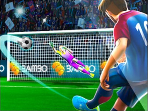 Play Football Strike Free Kick Game